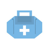 First aid kit case Royalty Free Stock Photos