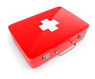 First aid kit case Royalty Free Stock Image