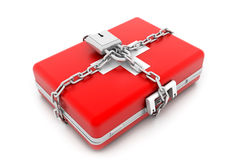 First aid kit. 3d illustration of first aid kit Stock Photo
