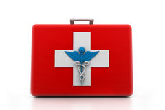 First aid kit. 3d illustration of First aid kit Stock Images