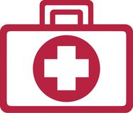 First Aid Kit. Medical vector Royalty Free Stock Images