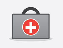 First Aid Kit. With handle Royalty Free Stock Images
