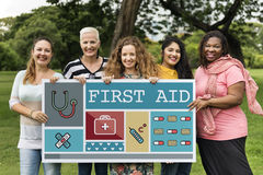 First Aid Kit Health Concept Stock Image