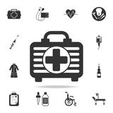 First aid kit icon. Detailed set of medicine element Illustration. Premium quality graphic design. One of the collection icons for. Websites, web design, mobile Royalty Free Stock Image