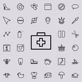 First-aid kit icon. Detailed set of minimalistic line icons. Premium graphic design. One of the collection icons for websites, web. Design, mobile app on Stock Photos