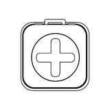 First aid kit icon image Royalty Free Stock Images