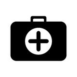 First aid kit icon image Royalty Free Stock Photo