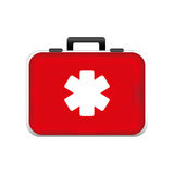 First aid kit icon image Stock Image
