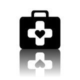 First aid kit icon image Stock Photo