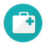 First aid kit icon image Stock Photos