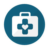 First aid kit icon image Stock Photography