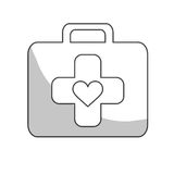 First aid kit icon image Royalty Free Stock Photography