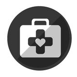 First aid kit icon image Royalty Free Stock Image