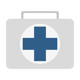 first aid kit icon Stock Photography