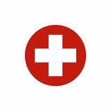 First Aid Kit icon vector design Royalty Free Stock Photos