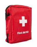 First Aid Kit. Isolated on white background Royalty Free Stock Photos
