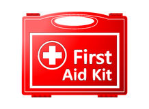 First Aid Kit; Medical Equipment. Background Royalty Free Stock Photography