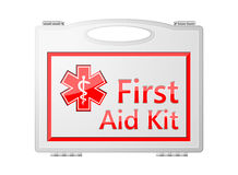 First Aid Kit; Medical Equipment. Background Royalty Free Stock Images