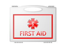 First Aid Kit; Medical Equipment. Background Royalty Free Stock Photos