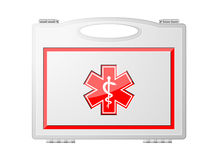 First Aid Kit; Medical Equipment Royalty Free Stock Photos