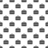 First aid kit pattern, simple style. First aid kit pattern. Simple illustration of first aid kit vector pattern for web Royalty Free Stock Photography