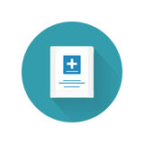 First Aid Kit Vector Illustration In Flat Design stock image