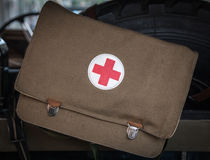 First-aid kit Royalty Free Stock Images