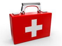 First aid kit. Royalty Free Stock Photography