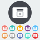First aid kits icon. Royalty Free Stock Images