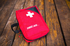 First aid medical kit Royalty Free Stock Images