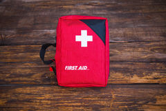 First aid medical kit Royalty Free Stock Photo