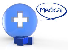 First aid medical sign. As medical concept Stock Photos