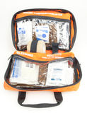 First Aid Outdoors Kit Pack Opened Stock Photography