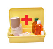 First aid - path included royalty free stock photos