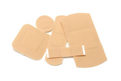 First aid plasters Stock Image