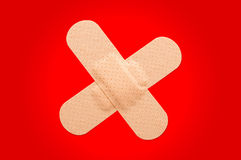 First-aid plasters Royalty Free Stock Images