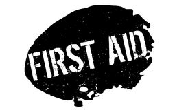 First Aid rubber stamp Royalty Free Stock Photo