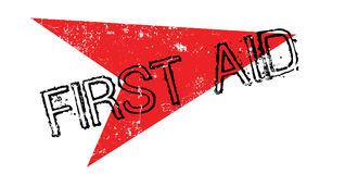 First Aid rubber stamp Royalty Free Stock Photography