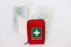 First aid set Royalty Free Stock Image