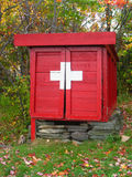 First aid shed Stock Photography