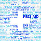 First aid sign - abstract Stock Photo