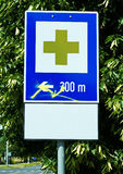 First aid sign Royalty Free Stock Photo