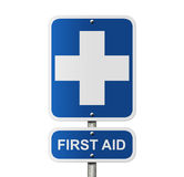 First Aid Sign Stock Photography