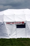 First Aid Station Stock Photos