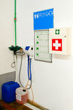 First Aid Station Royalty Free Stock Photography
