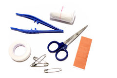 First aid supplies Stock Photo