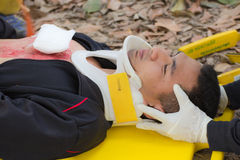 First aid training Royalty Free Stock Photography
