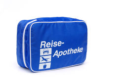 First aid travel kit 02 Royalty Free Stock Photography