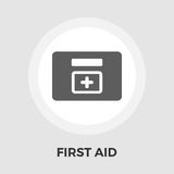 First aid vector flat icon Royalty Free Stock Photos