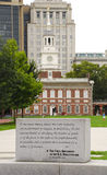 First Amendment Independence Hall Stock Images